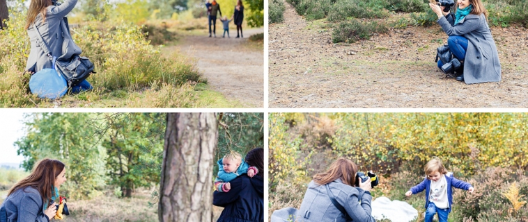 Behind-the-scenes photos from my mini sessions