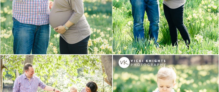 Spring mini session at Claremont Gardens, Esher – part one