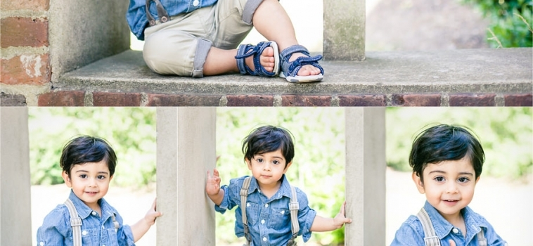 A family photo shoot in Cobham, Surrey