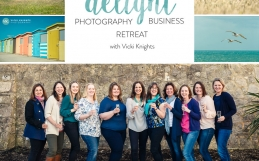 My first Delight workshop retreat for family & child photographers