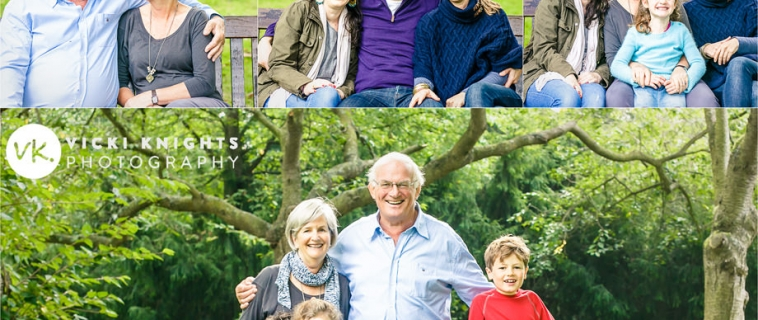 A big family photo shoot in Teddington