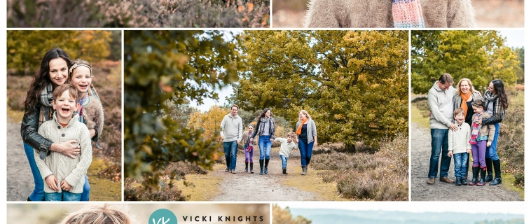 The results of my autumn mini sessions in Farnham, Surrey