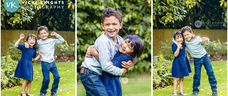 Fun and relaxed child photography