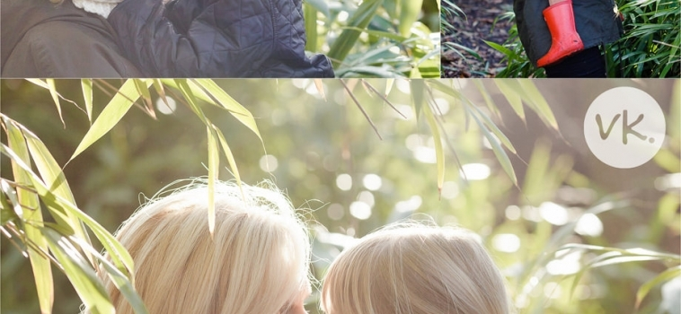 A winter family photo shoot in Surrey