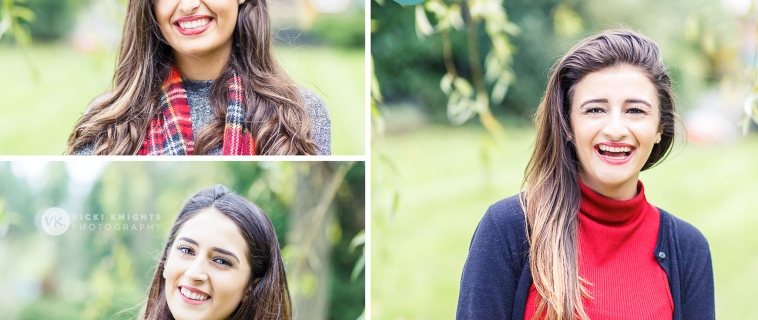 A shoot with sisters in Chertsey
