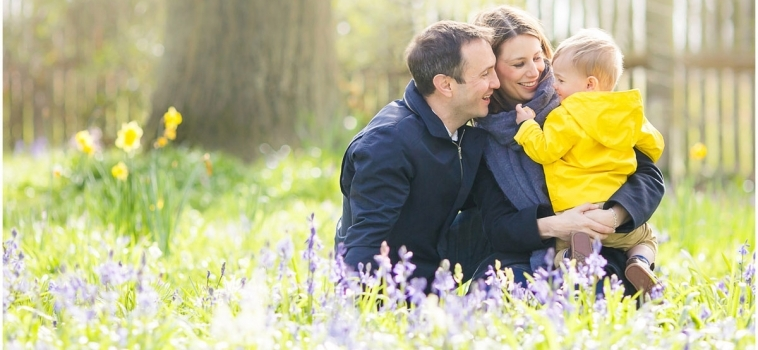 A Spring family photo shoot in Surrey