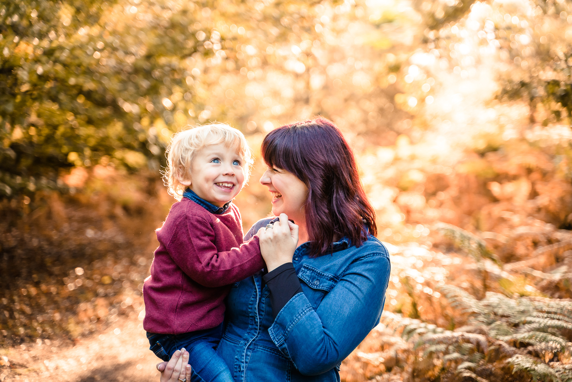 autumn family photo shoot