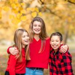 autumn family photo shoot surrey