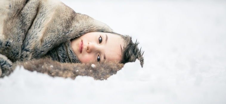 My boys in the snow | Surrey child photographer