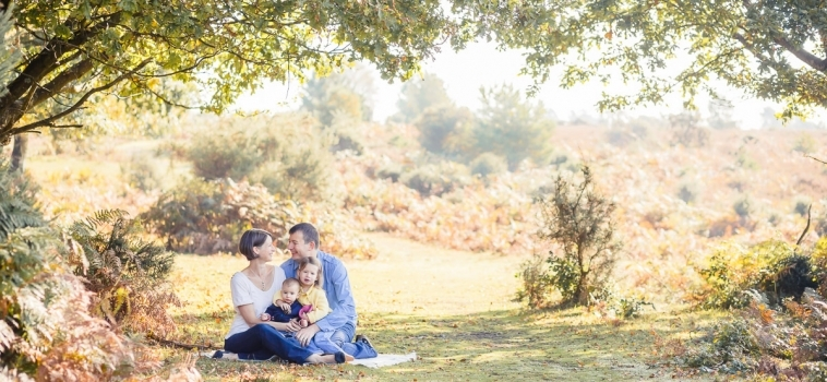 Family photo session in Hindhead, Surrey