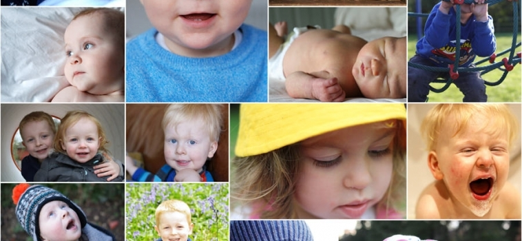 Learning to take photos of your own family