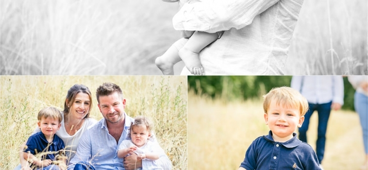 Family photo shoot in Richmond-upon-Thames