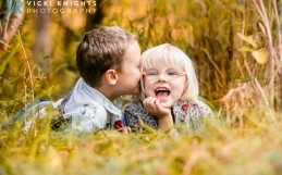 An autumn family photo session | Surrey family photographer