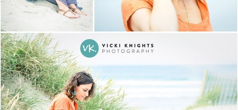 A Portrait Photo Session at West Wittering Beach