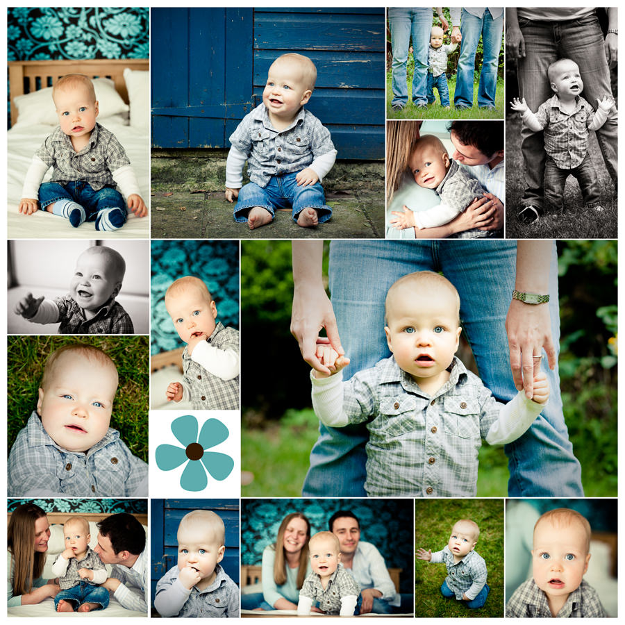 Happy chap baby photo shoot in surrey