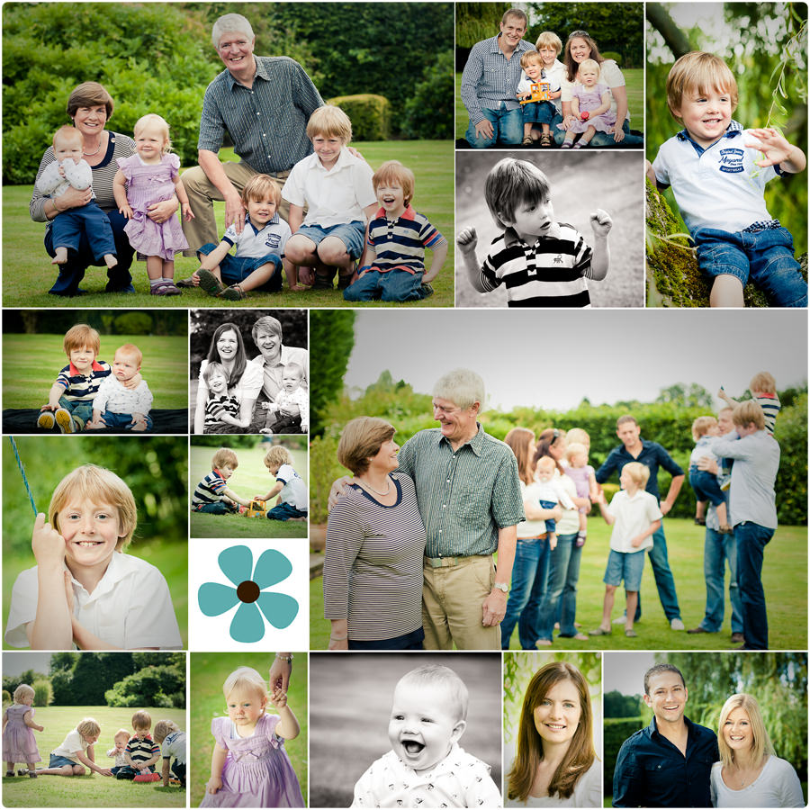 An Extended Family Shoot In Windlesham Vicki Knights